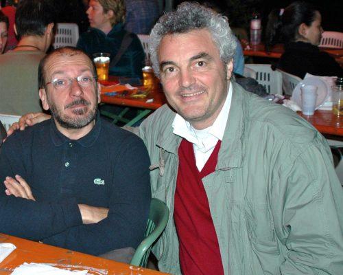 Con Dario Vergassola nel 2004