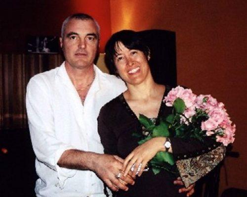 Con Michelle ShocCon Michelle Shocked in Studio a Verona il 22 Maggio 2003ked al Folk Club di Torino il 24 Maggio 2003
