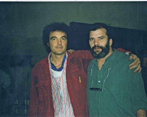Con Steve Earle a Chiari 1997