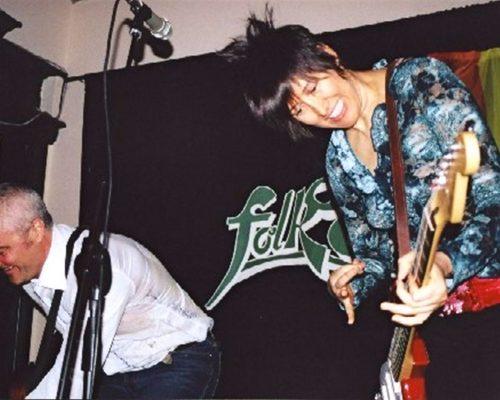 Con Michelle Shocked al Folk Club di Torino il 24 Maggio 2003
